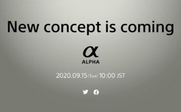 Llega el nuevo concepto de cámara mirrorless para la serie Sony Alpha