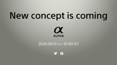 ソニーがαニューコンセプトミラーレスカメラを9月15日に発表予定