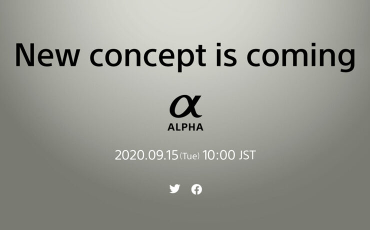 Sony's New Concept Alpha Mirrorless Camera Is Coming