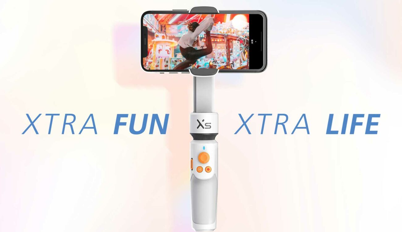 Zhiyun(ジウン)がSMOOTH-XSスマートフォンジンバルを発表