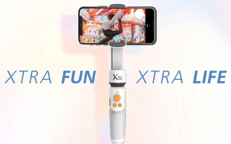 Zhiyun SMOOTH-XS Announced - Palm-Sized Foldable Smartphone Gimbal