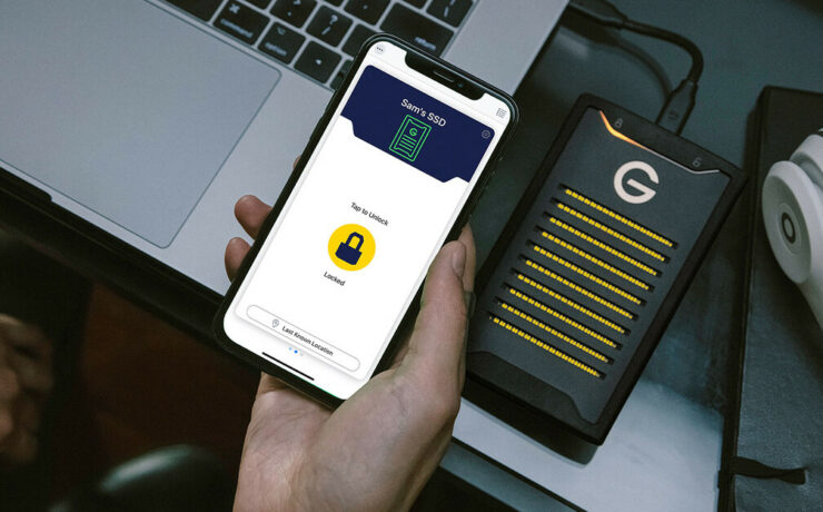 G-Technology ArmorLock SSD - Drive With App Based Security