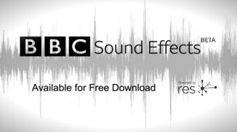 BBC Gives Away 16,000 Sound Effects for Free