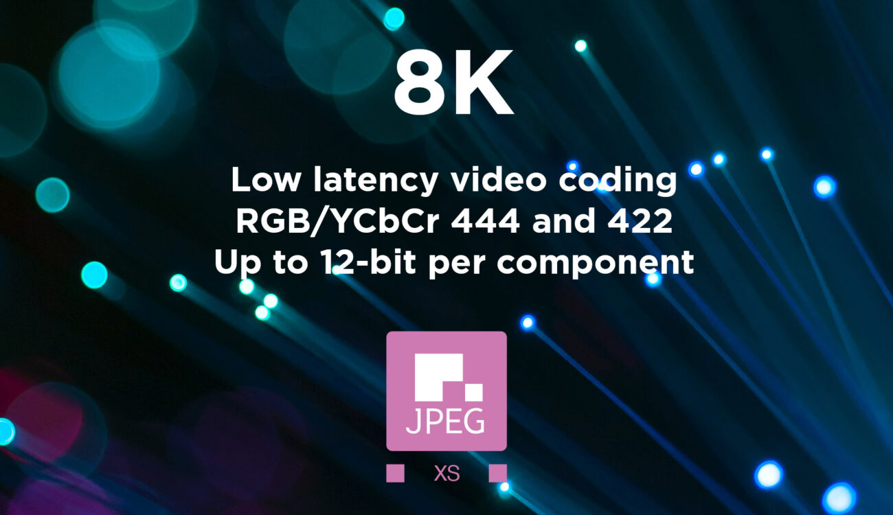 Fraunhofer IIS presents 8K Video Over IP with JPEG XS