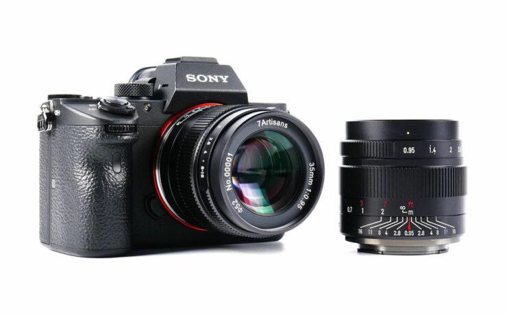7Artisans 35mm F/0.95 Lens Announced