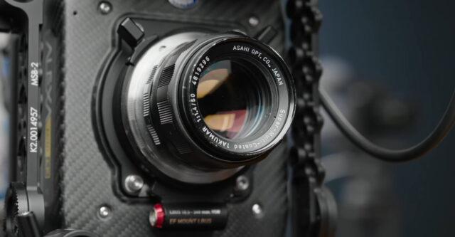 vinatge EF lens