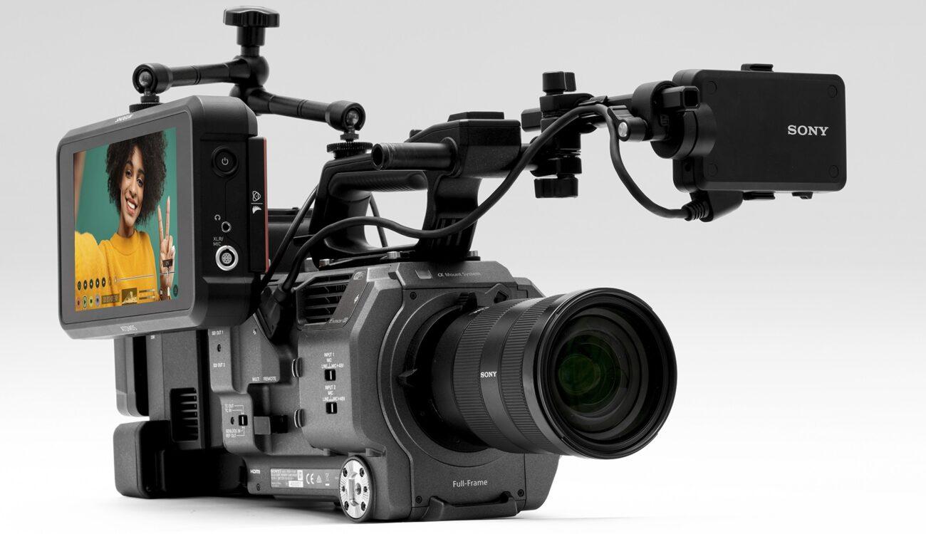 Atomos Shogun 7 Update - Sony FX9 RAW Recording Enabled