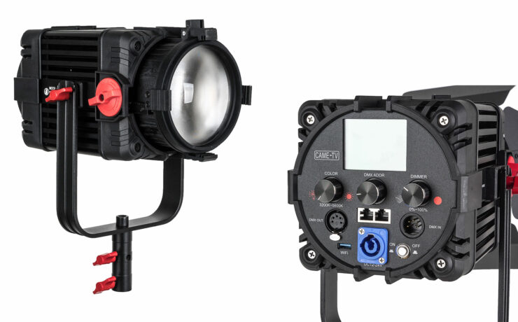 CAME-TV Boltzen F-150S Released - 150W Bi-Color LED Fresnel Light