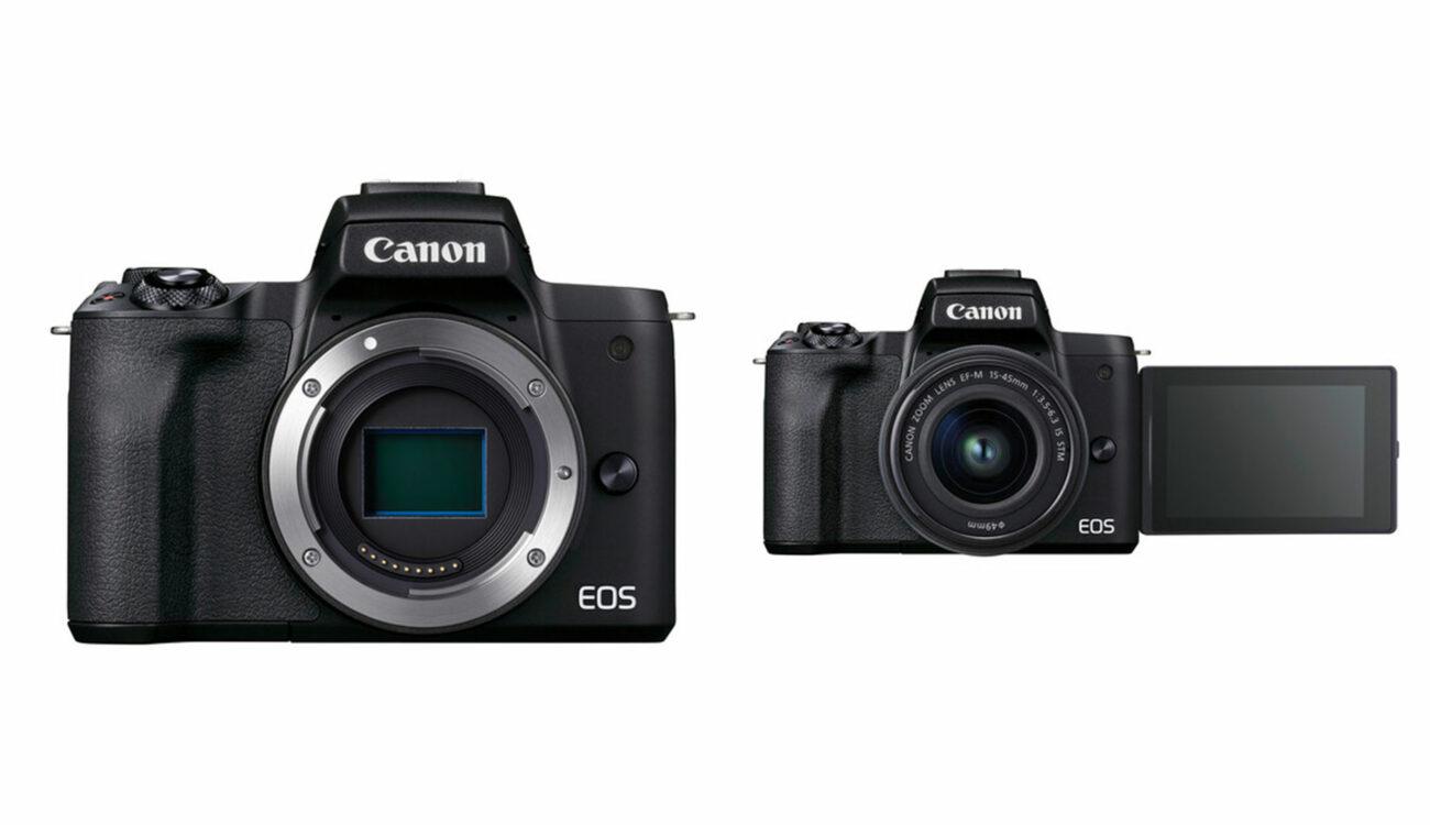 Canon EOS M50 Mark II Announced - Vlogging Camera Updated
