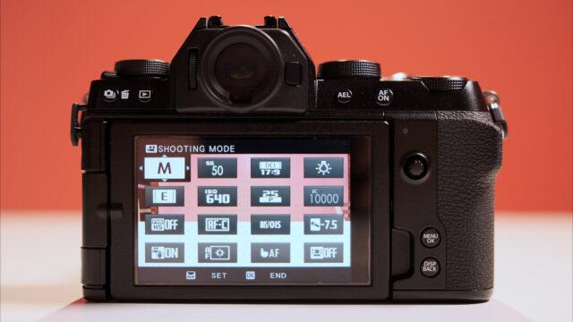 FUJIFILM X-S10 Q mode