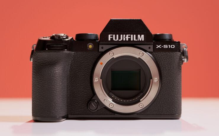 FUJIFILM X-S10 Introduced - Compact Stabilized APS-C Sensor Camera