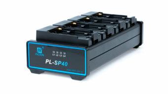 Fxlion PL-SP40 NP-F用4連バッテリーチャージャー