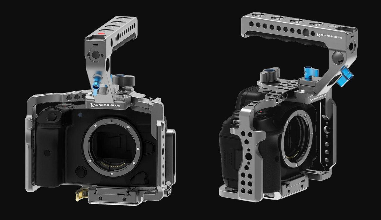 Lanzaron los armazones completos Kondor Blue para las Canon EOS R5/R6