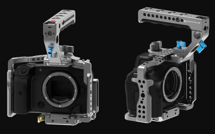 Kondor Blue Canon EOS R5/R6 Full Cages Released