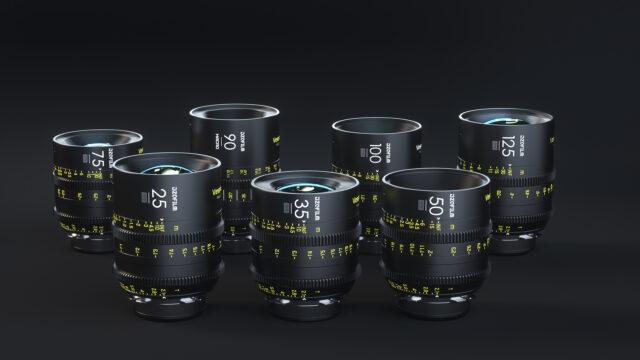 DZOFilm Vespid 7 Full Frame Prime Lens Kit