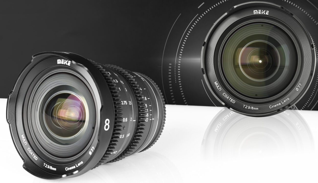 MEIKE 8mm T2.9 Cine Mini Prime Lens Announced