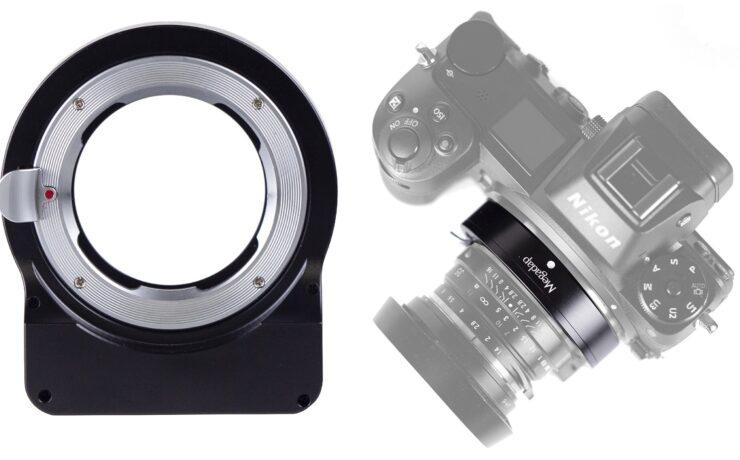 Megadap MTZ11 Adapter Adds Autofocus to Manual Lenses on Nikon Z Cameras