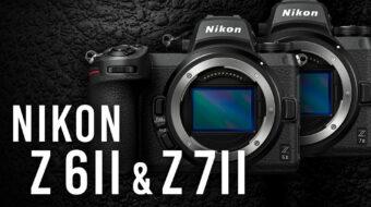 ニコンがZ 6II と Z 7IIを発表