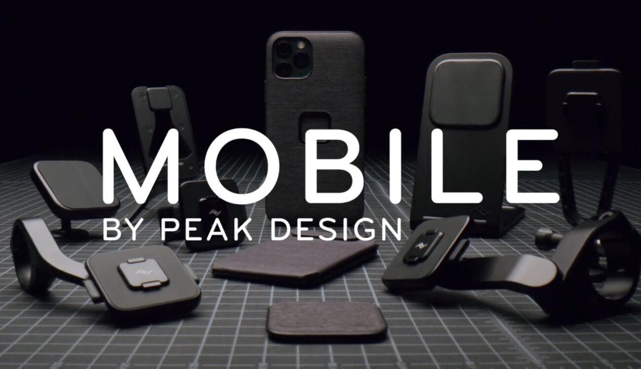 Peak Design Mobile: Accesorios de filmografía para teléfonos y mucho más