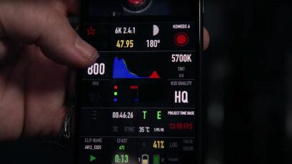 RED がKomodo用コントロールアプリをリリース