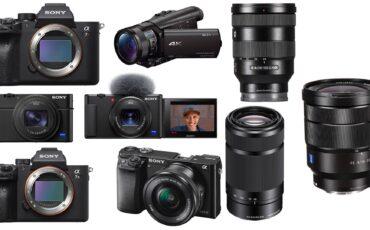 Ofertas especiales de Sony: cámaras y lentes con hasta $500 de descuento