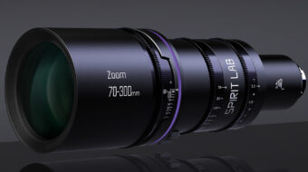 Spirit Lab Cine Zoom 70-300mm T3.2 Announced