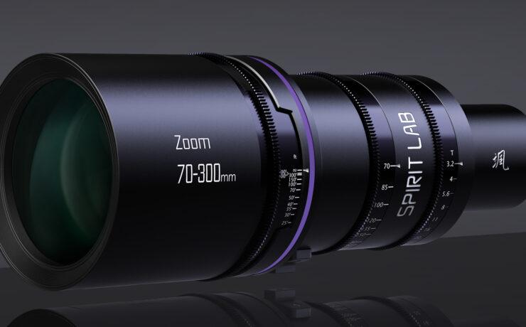 Spirit Lab Cine Zoom 70-300mm T3.2 Announced
