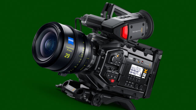 Blackmagic Design URSA Mini Pro 12K - Interview with Craig Heffernan