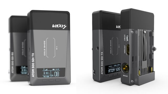 Vaxis ATOM 500 SDI Wireless Video Transmission System