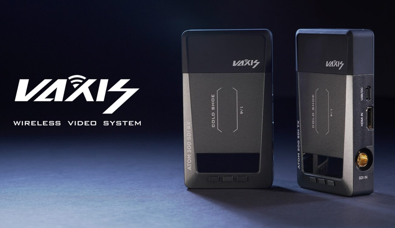Anunciaron el Vaxis ATOM 500 SDI: nuevo sistema de video inalámbrico
