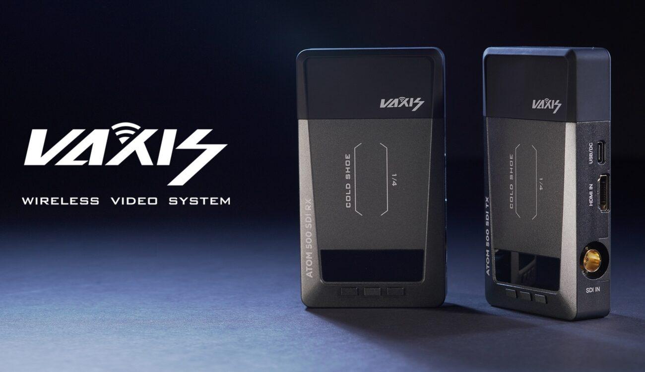 VaxisがATOM 500 SDIワイヤレスシステムを発表