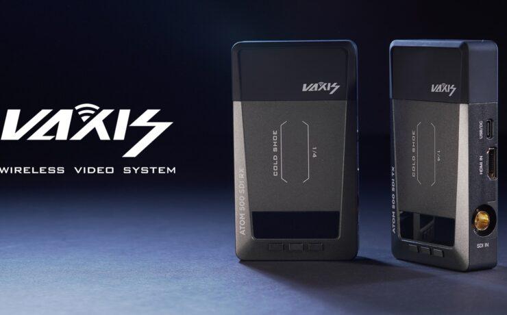 Vaxis ATOM 500 SDI Wireless Video System Announced
