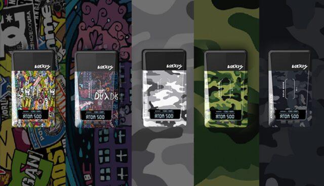 Vaxis ATOM 500 SDI Wireless Video Transmission System with custom skins.