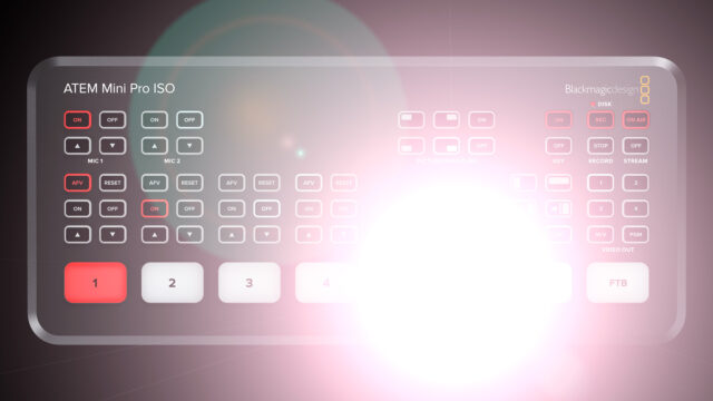 Very bright backlit keys used to dazzle the eye