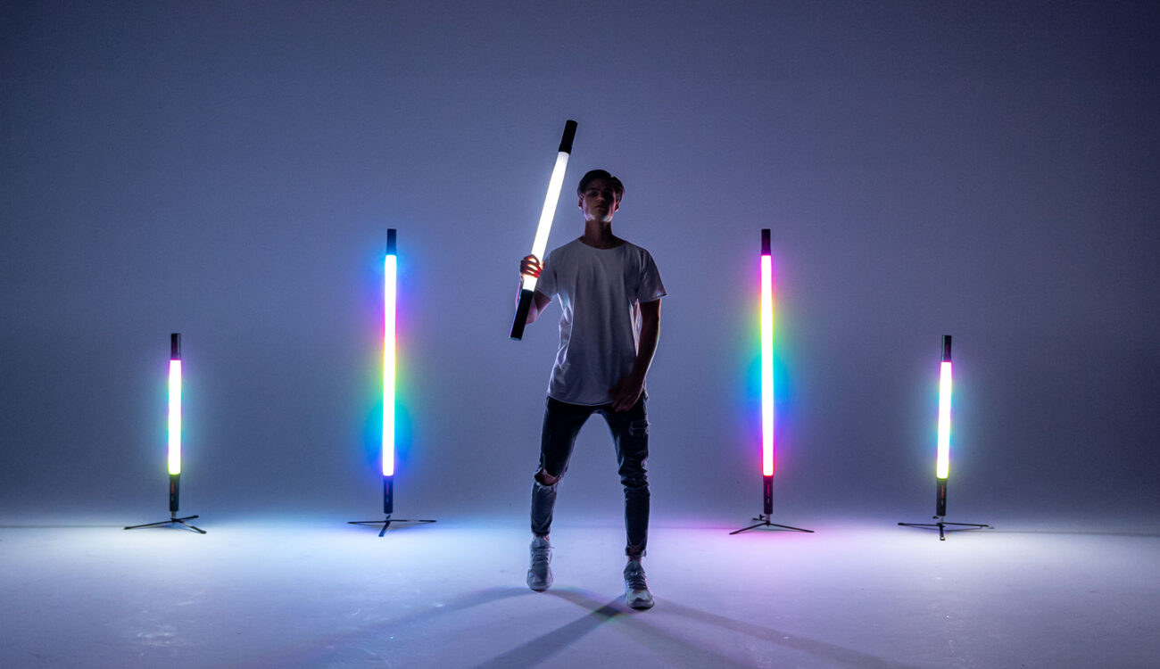 Vibesta Peragos LED Tube Lights on IndieGoGo