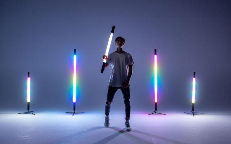 Vibesta Peragos LED Tube Lights on IndieGoGo