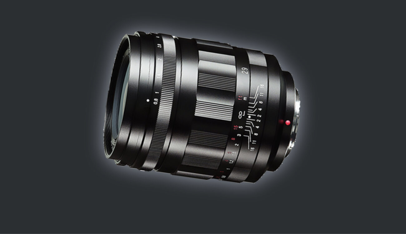 Voigtländer Super Nokton 29mm f/0.8 Prime Lens for MFT Announced