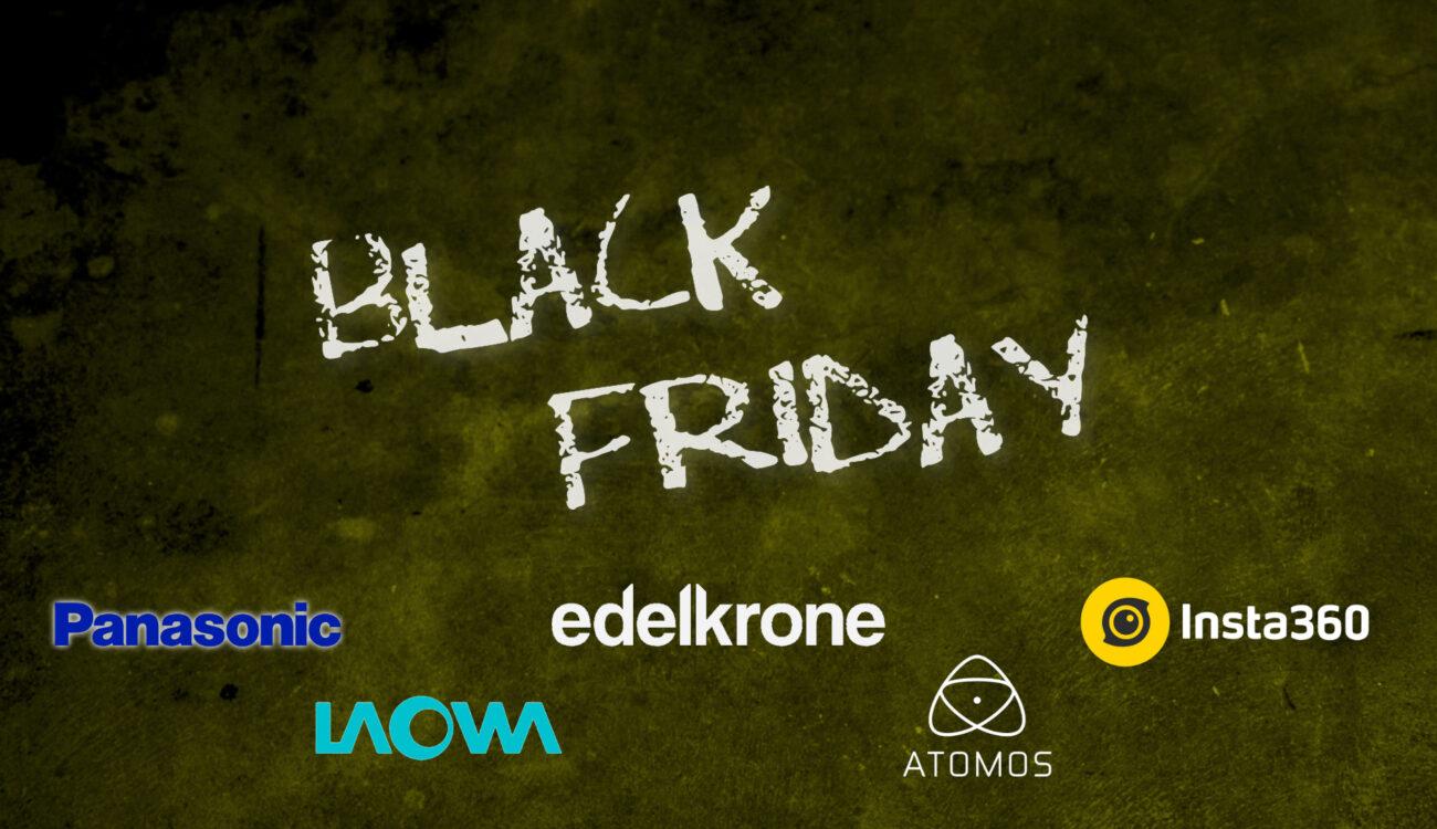 Ofertas del Black Friday 2020 - Insta360, Atomos, Venus Optics Laowa, Panasonic, Edelkrone
