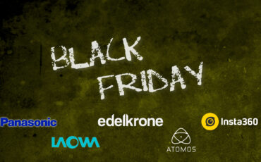 Black Friday Deals 2020 – Insta360, Atomos, Venus Optics Laowa, Panasonic, Edelkrone