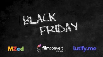 Ofertas de Black Friday 2020 - MZed, Lutify.me y FilmConvert