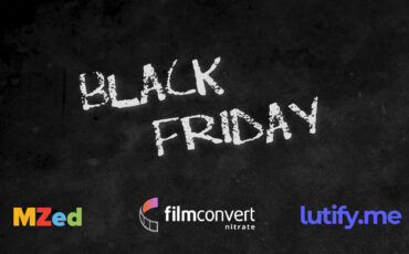 Black Friday Deals 2020 – MZed, Lutify.me & FilmConvert