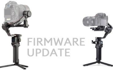 DJIがRS 2とRSC 2のファームウェアをアップデート