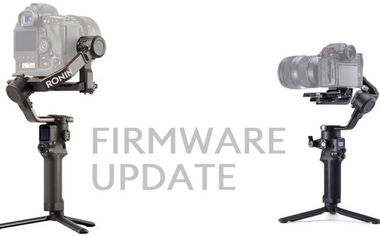DJI RS 2 and RSC 2 Firmware Update Released