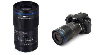 Laowa 100mm f/2.8 2x  Ultra Macro APOレンズ – マニュアル絞りEFとペンタックスKマウントを追加