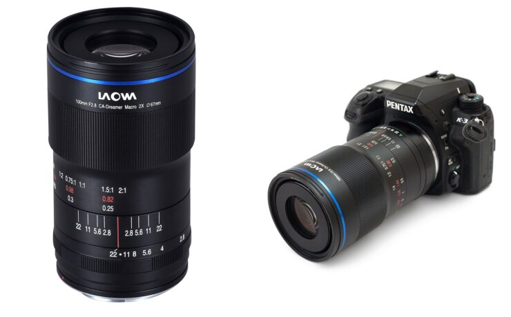 Laowa 100mm f/2.8 2x Ultra Macro APO Lens - EF Manual Aperture & Pentax K Models Added