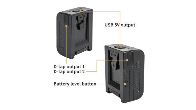 MINI 99 V-Mount battery Terminals