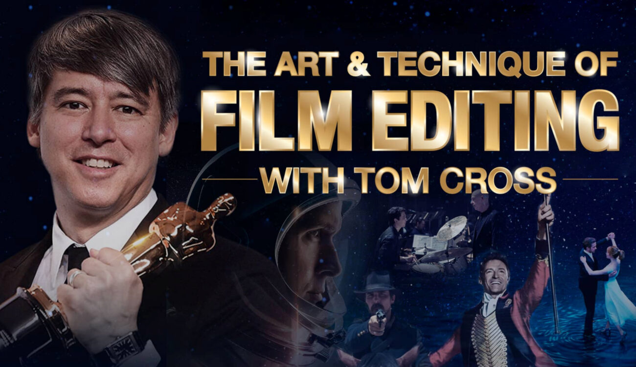 """Reseña del curso """"El Arte y la Técnica de la Edición de Cine"""" con Tom Cross, en MZed"""