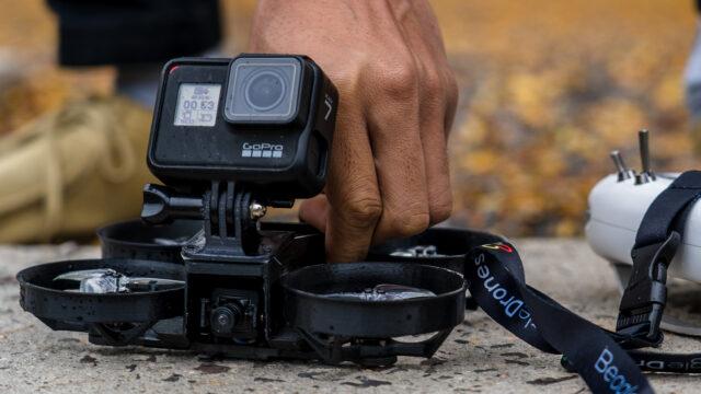 NOVA FPV Drone with external Action Cam.