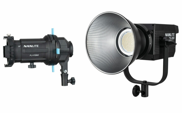 NANLITE FS-200 Compact All In One LED Light Announced