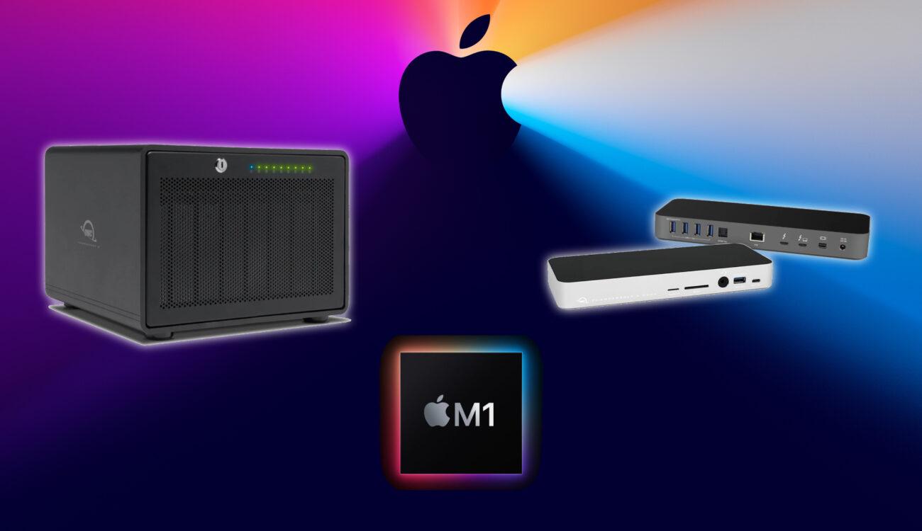 OWCがThunderboltドライブがM1搭載Macと互換性があることを発表